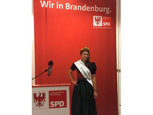 Empfang für die Brandenburger Agrarwirtschaft
