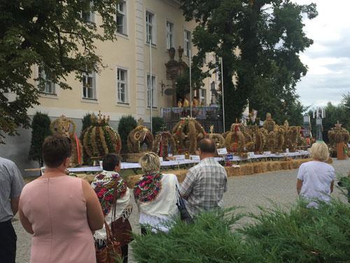 Erntedankfest in Kreisau