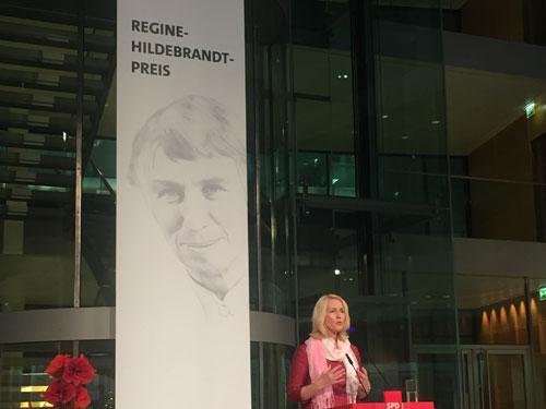 SPD verleiht Regine-Hildebrandt-Preis 2016 an Projekte in Berlin, München und Hildesheim