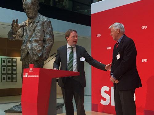 SPD-Wirtschaftsempfang 2016