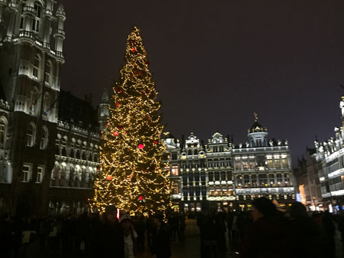 Advent in Brüssel