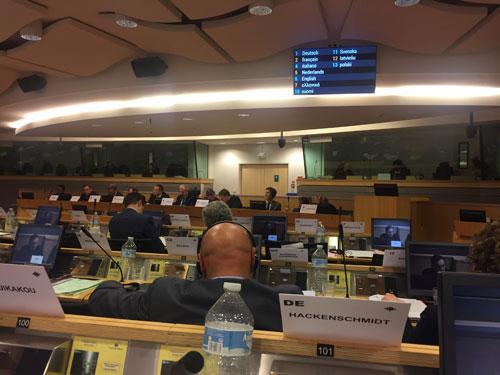 Beratung im ECON-Ausschuss