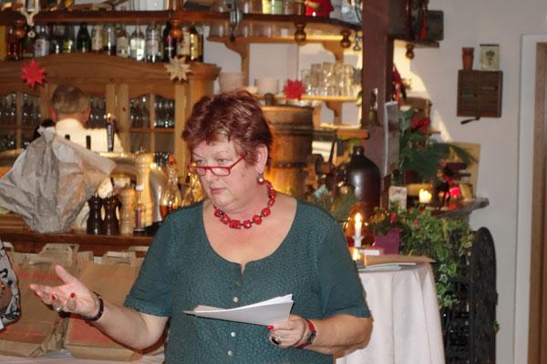 Barbara Hackenschmidt würdigte Ehrenamt