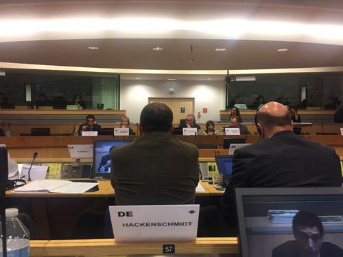 Beratung im ENVE-Ausschuss