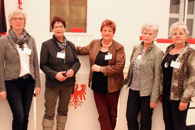 Empfang der Landtagspräsidentin Britta Stark, anlässlich des Internationalen Frauentages in Potsdam
