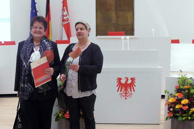 Zwei Landtagsmedaillen für Elbe-Elster