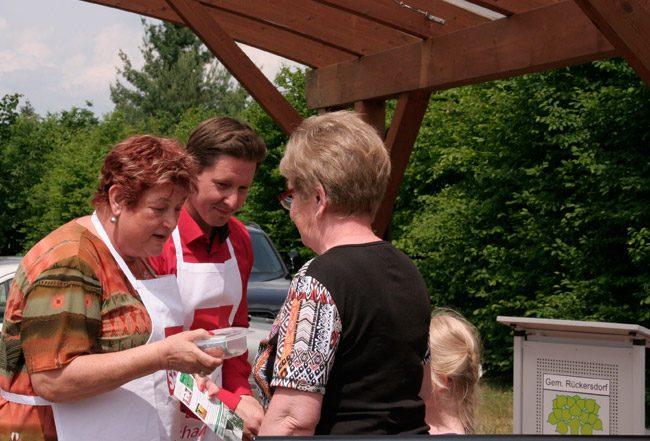 Oppelhainer Mühlenmarkt - Kochen für einen guten Zweck