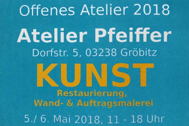 Offenes Atelier 2018 - 5. und 6. Mai