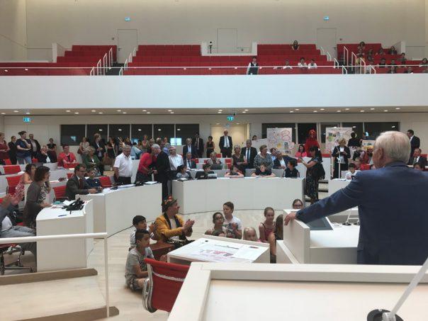 Kindertag im Plenarsaal