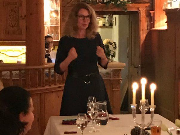 """4. Unternehmerinnen- Gespräch in Falkenberg/Elster in den """"Kitzbühler Stuben"""", Referentin: Beate Fernengel, mit einem sehr interessanten Vortrag : """"Was wirklich zählt!"""""""