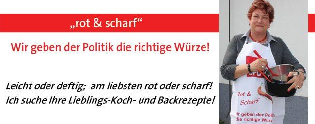 Barbara Hackenschmidt sucht Ihr Lieblings-Koch-und Backrezept!