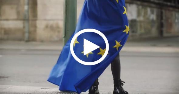 Kommt zusammen! Macht Europa stark.