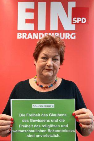 """SPD-Landtagsabgeordnete Barbara Hackenschmidt zu: """"70 Jahre Grundgesetz"""""""