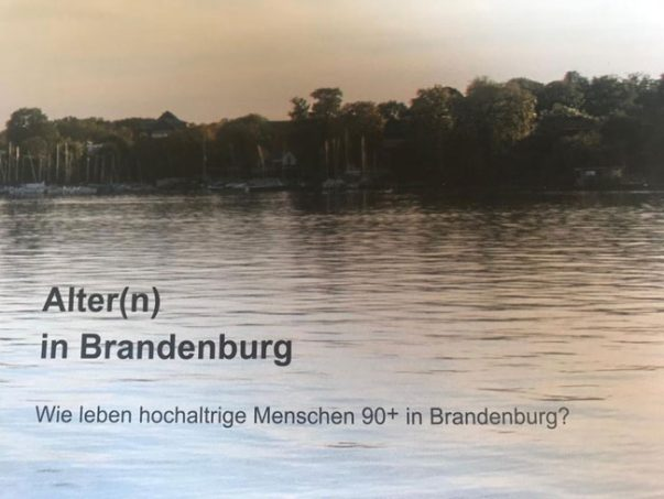 """Alter(n) in Brandenburg"""