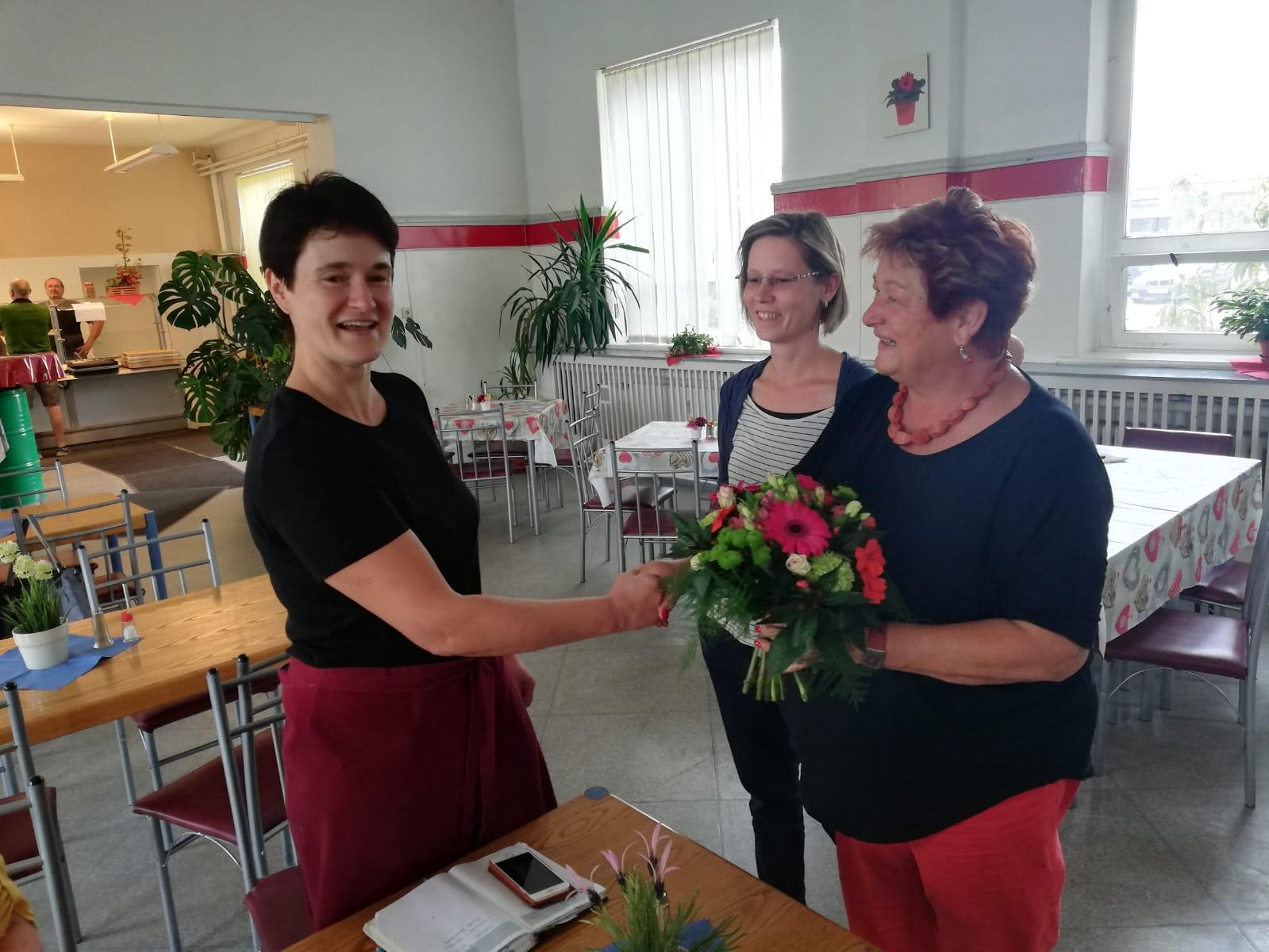 Blumenstrauß des Monats für Mandy Dufke