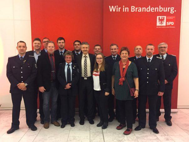 Empfang der SPD-Fraktion für die Feuerwehren, die Hilfsorganisationen und das THW