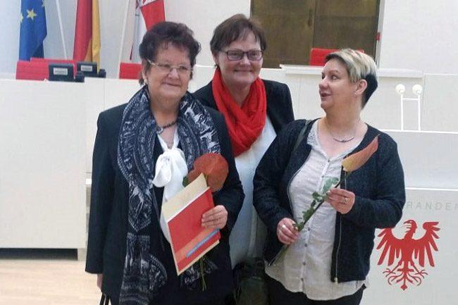 Verleihung Ehrenmedaille des Landtages Brandenburg